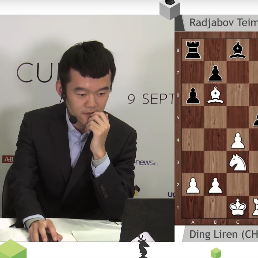 Ding Liren on his win vs Radjabov | FIDE World Cup 2019 | Final. Game 2 |