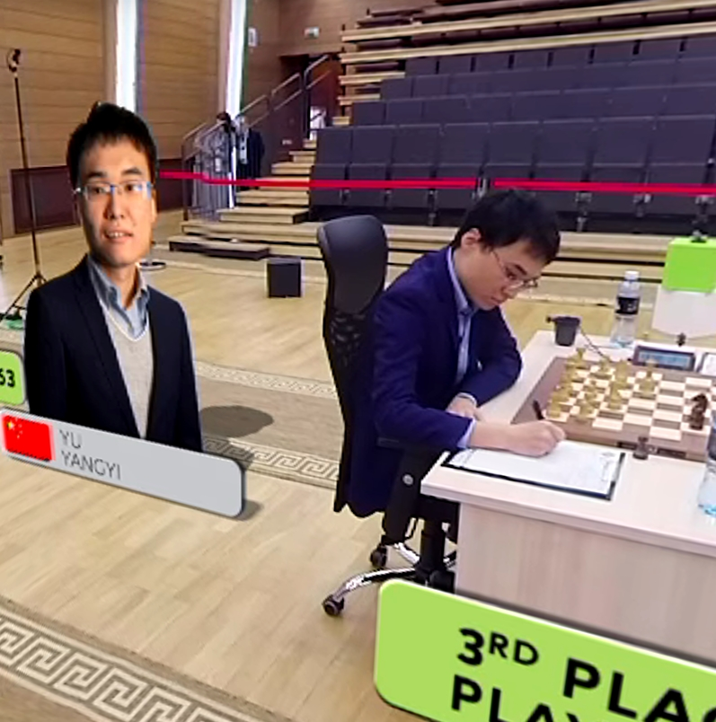 FIDE World Cup in 360° Virtual Reality | Playing hall |